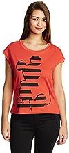 Disney by Genes Women's Body Blouse Shirt (CHD15-012KTBLO_Volcanic_Small)