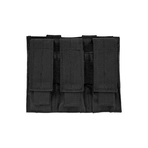NcStar CVP3P2932B Triple Pistol Mag Pouch-Black