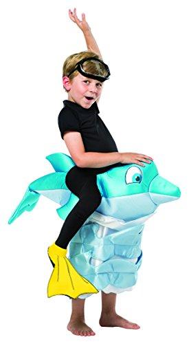 Rasta Imposta 9644-46 4-6 Dolphin Rider Costume
