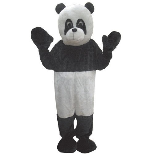 Panda Mascot Costume Set - Adult