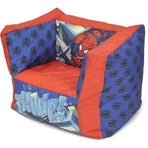 marvel 39 s spider man ultimate bean bag chair. Black Bedroom Furniture Sets. Home Design Ideas