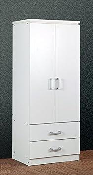 Charles 2 armario 2 para puerta en color blanco