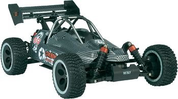 Reely 1:10 electric buggy model car Carbon Fighter Brushless 4WD EB-04 RtR 2.4 GHz