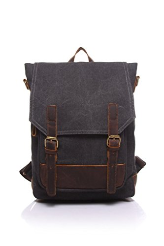 sechunk-retro-multifunction-canvas-leather-backpack-ipad-bag-shoulder-bag-bookbag-weekend-bag-daypac