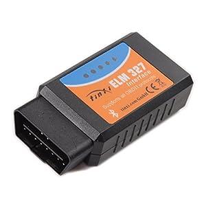 tinxi® Bluetooth EOBD OBDII OBD 2 KFZ Auto Interface Diagnose Version 2.1 V2.1 Testgerät
