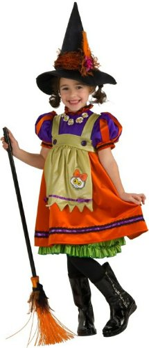Rubie'S Halloween Sensations Orange Witch Costume