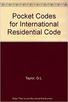 Pocket Codes For International Residential Code G L