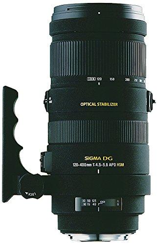 Sigma 120-400Mm F/4.5-5.6 Af Apo Dg Os Hsm Telephoto Zoom Lens For Nikon Digital Slr Cameras