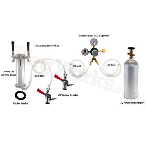 Double Tap Tower Refrigerator Conversion Kit