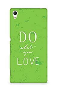 AMEZ do what you love Back Cover For Sony Xperia Z4