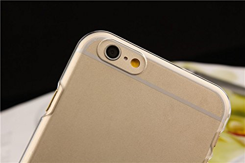 Kaira Crystal Clear Transparent hard back case cover for Apple Iphone 6 (4.7 inch)