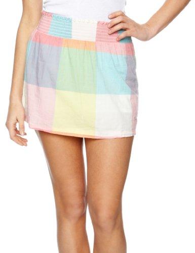 Roxy Gypsy Plaid Mini Women's Skirt