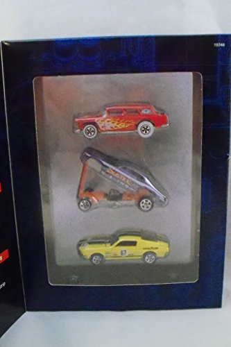 Hot Wheels V8s 3 Car Set TARGET EXCLUSIVE Chevy 302 Nomad, Chrysler 426 Funny Car, Ford 427 Race Car