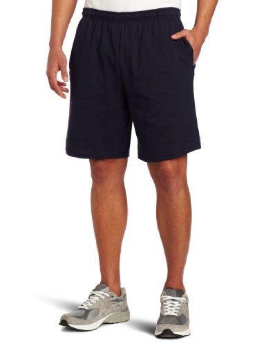 Soffe Men's Classic 100% Cotton Pocket Short Navy X-Large Casual Shorts