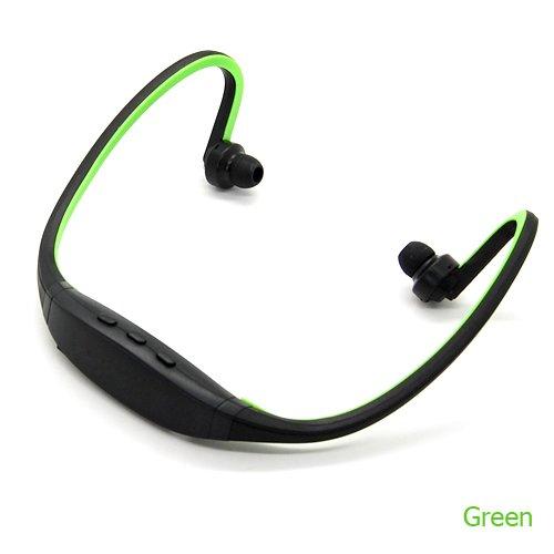 For Samsung Galaxy S4/S3/S2 Wireless Hifi Headphone Headset Bluetooth W/ Mic (Green)
