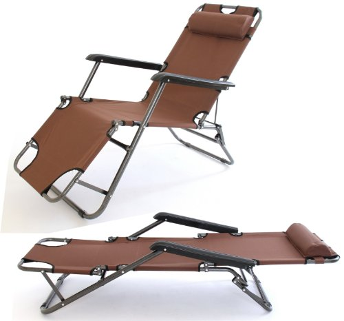Charles Jacobs 2x Stylish Outdoor Foldable Garden SUN LOUNGERS (PAIR) / Reclining/C&ing  sc 1 st  Best Choice Garden Furniture in UK & 0n £ Charles Jacobs 2x Stylish Outdoor Foldable Garden SUN ... islam-shia.org