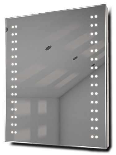 Doubleline Ultra-Slim Led Bathroom Illuminated Mirror With Demister & Sensor K13