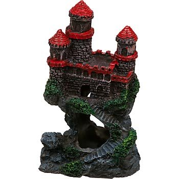 Penn Plax Mini Castle Aquarium Ornament