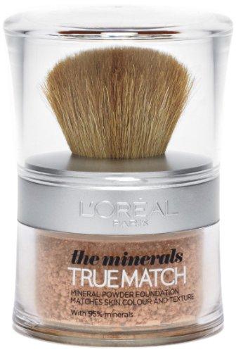 L'Oréal Paris True Match, Fondotinta in polvere minerale, 10 g, W1