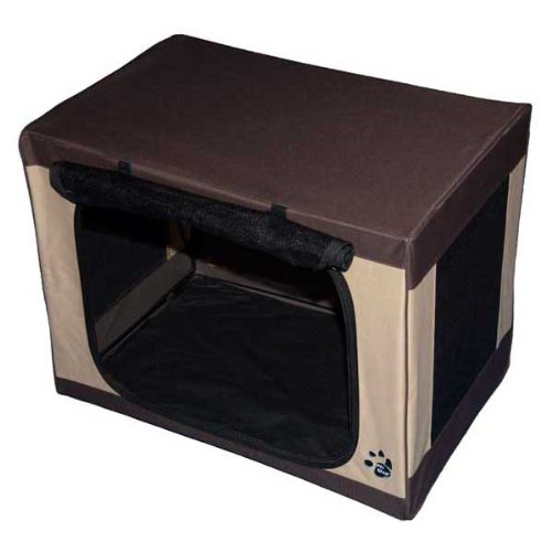 Pet Gear Travel-Lite Soft Crate For Cats And Dogs Up To 70-Pounds, 36-Inches, Pet Crate, Sahara