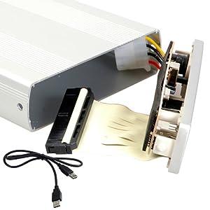 boitier externe pour disque dur ide ata 3 5 3 5 pouce dd pc usb portable bureau windows 7. Black Bedroom Furniture Sets. Home Design Ideas