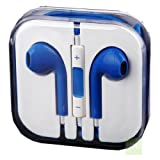 EGAZS(TM) New Style Earphones/Earbuds with REMOTE AND VOLUME CONTROL For Apple iPhone 5, iPod Touch 5, iPad Mini, iPad 4th Generation, iPod Nano 7 and all iPhones, iPads and iPods