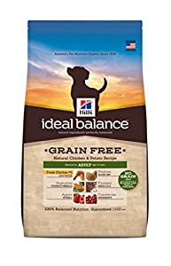 Hill's Ideal Balance Grain Free Chicken and Potato Recipe Adult Dog Dry Food Bag, 3.5-Pound