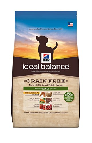 Hill'S Ideal Balance Grain Free Chicken And Potato Recipe Adult Dog Dry Food Bag, 21-Pound