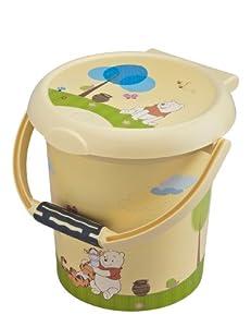 Rotho 20215016575 STyLE - Cubo para pañales con diseño de Winnie the Pooh por Rotho