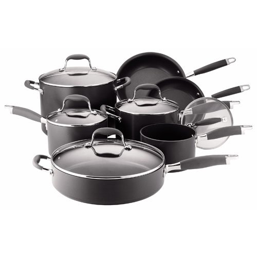 Anolon Advanced Nonstick Hard-Anodized Aluminum 12-Piece Cookware Set
