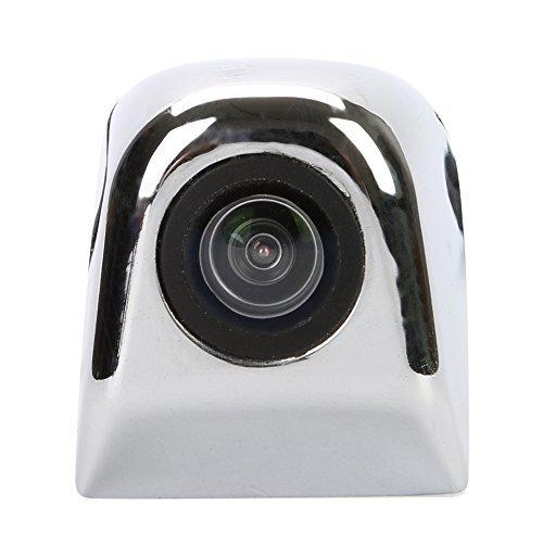 TKOOFN Caméra De Recul Vision Nocturne Voiture Auto Vue Arrière 170° CCD NTSC HD (ARGENT)