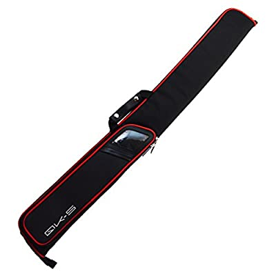 Cuetec QK-S Billiard/Pool Cue Soft Nylon Carrying Case, Holds 1 Complete 2-Piece Cue (1 Butt/1 Shaft)