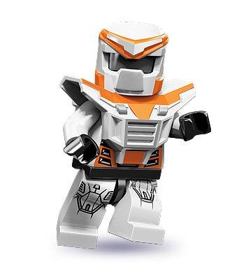LEGO 71000 - Minifigur Battle Mech aus Sammelfiguren-Serie 9