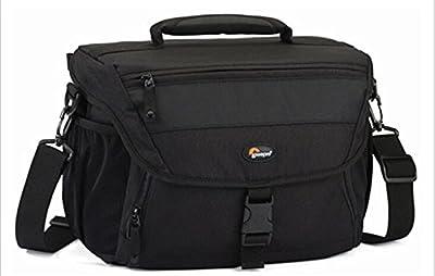 zhigao Black Lowepro Nova 190 AW DSLR Photo Camera Carry Shoulder Bag Case Rain Cover