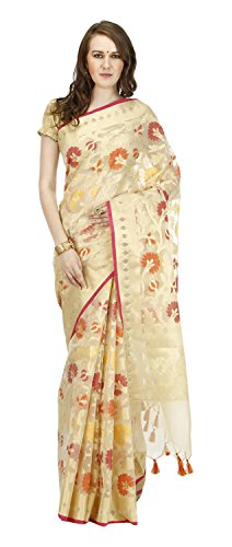 Banarasi-Silk-Works-Womens-Cotton-Banarasi-Saree-Beige