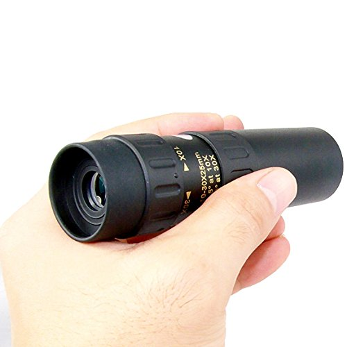 YINGNEW 10 x - 30 x 25 mm Zoom Cannocchiale Telescopio zoom ottica Scope per Bird Watching, campeggio, escursionismo