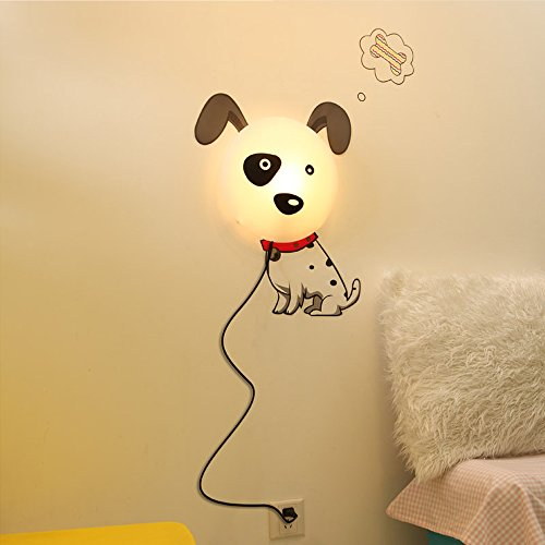 Eiiox Baby Led Night Light With Diy Cute Puppy Wallpaper Sticker For Baby Bedroom Decor front-23679