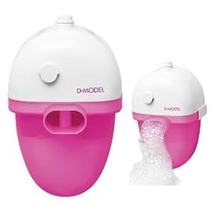 Bulle de savon de bain rose heure de bain de bain une for Bain moussant maison