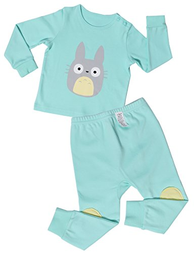 UniFriend Baby and Little Girls' 2 Piece Cotton Pajama