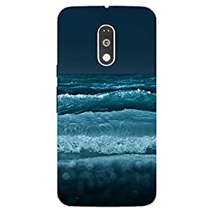 Back Cover for Moto G (4th Gen) Sea