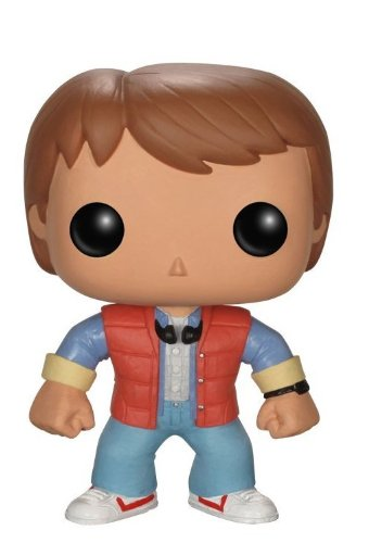 Funko Figurina Pop Movies Back To The Future Marty Mcfly, Vinyl