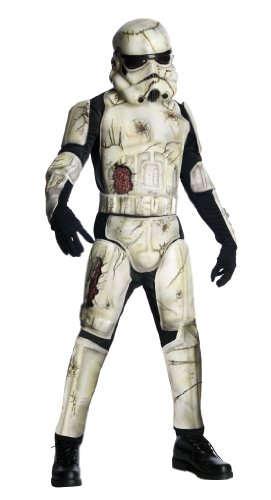 Star Wars Death Trooper Deluxe Adult Set, Green, Standard