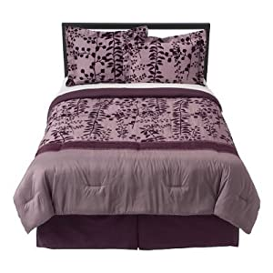 Twilight: New Moon Bella's Purple Comforter Set (KING SIZE)