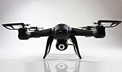 NightHawk Quadcopter w/ HD Camera. Remote Control 6 Axis Gyro DM007 Spy Explorers 4 Channel 2.4GHz