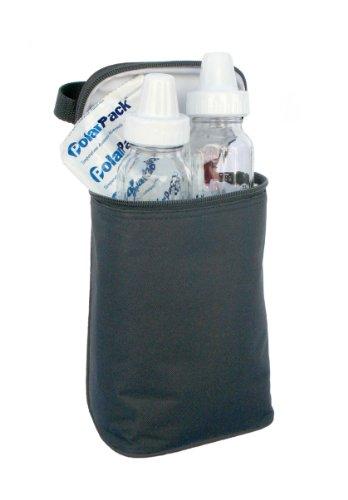 JL Childress Tall TwoCOOL 2 Bottle Cooler, Black