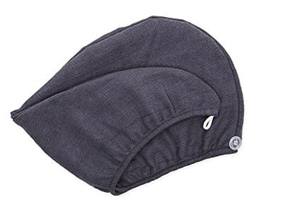 Aquis Microfiber Hair Turban, Lisse Crepe, Patented Design