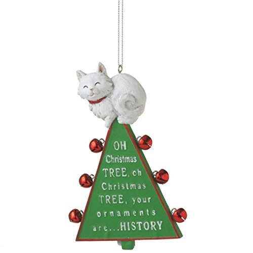 Oh Christmas Tree Cat Resin Christmas Tree Ornament