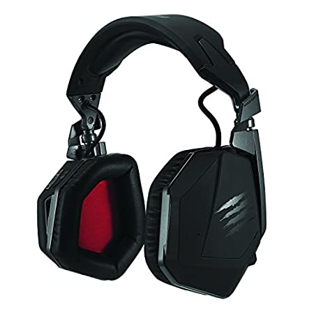 Mad Catz - Headset F.R.E.Q. 9 Wireless, Color Negro Mate (Windows, Mac, PS4, Xbox One)