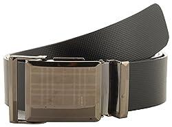 Jackblack Men's Leather Belt (SEVP011, Black, 34)