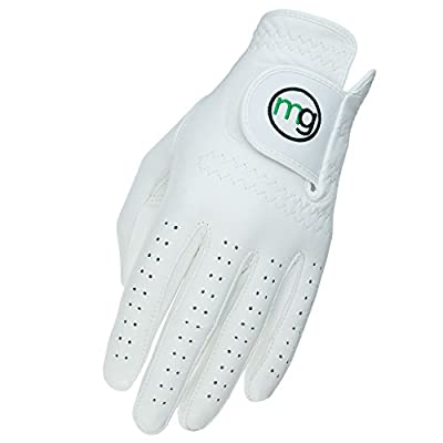MG Golf DynaGrip All-Cabretta Leather Golf Glove (Men's Regular Sizes)
